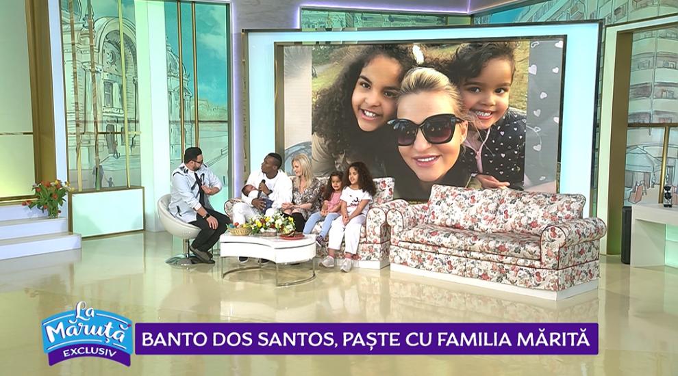 VIDEO Banto dos Santos, Paște cu familia mărită