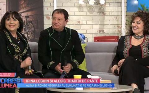 Irina Loghin și Alesis, despre tradiții și sărbătorile pascale în familie
