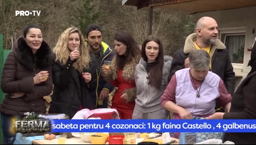 VIDEO Rețeta secretă a fabuloșilor cozonaci din Ferma