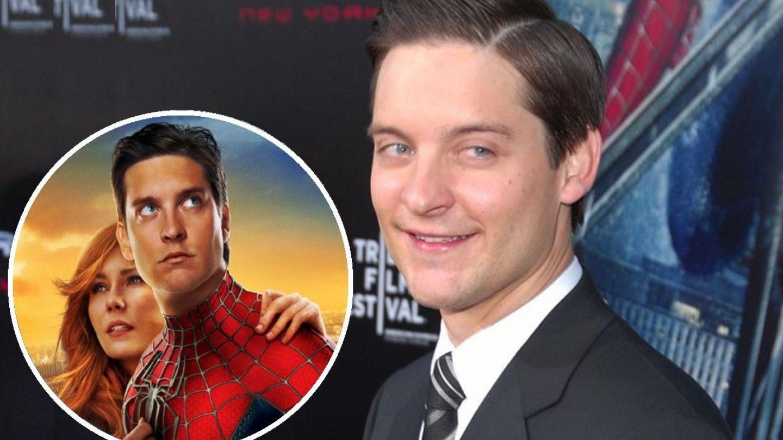 Tobey Maguire (Spider Man) și-a scos fiul de zece ani în oraș. Cum arată bdquo;omulețul păianjen