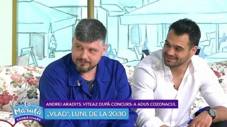 VIDEO Andrei Aradits și George Piștereanu, despre serialul Vlad