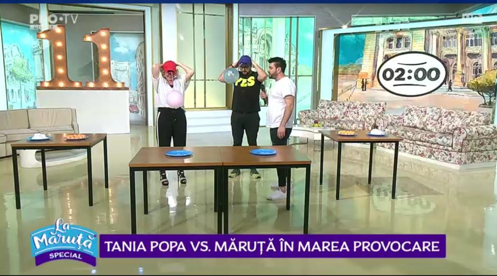 VIDEO Tania Popa vs. Măruță în marea provocare