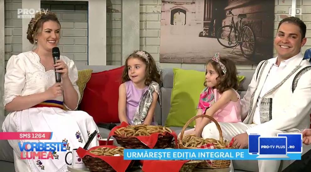 VIDEO Lavinia Goste vrea al treilea copil