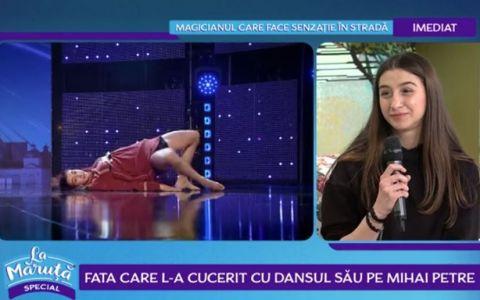 Povestea dansatoarei care l-a cucerit pe Mihai Petre