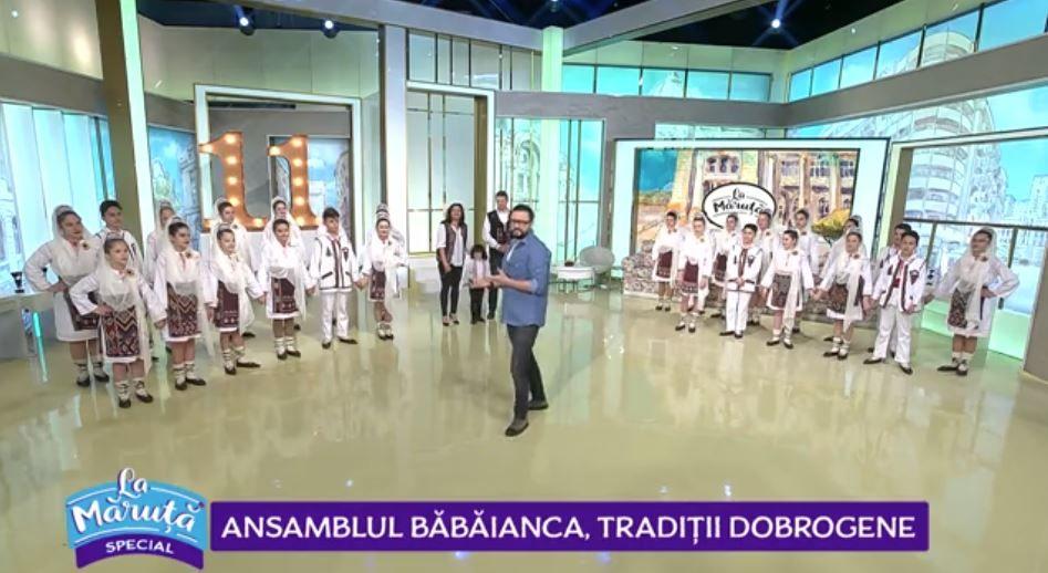 """Dansatorii care au câștigat duelul mini-ansamblurilor au revenit """"La Măruță"""""""