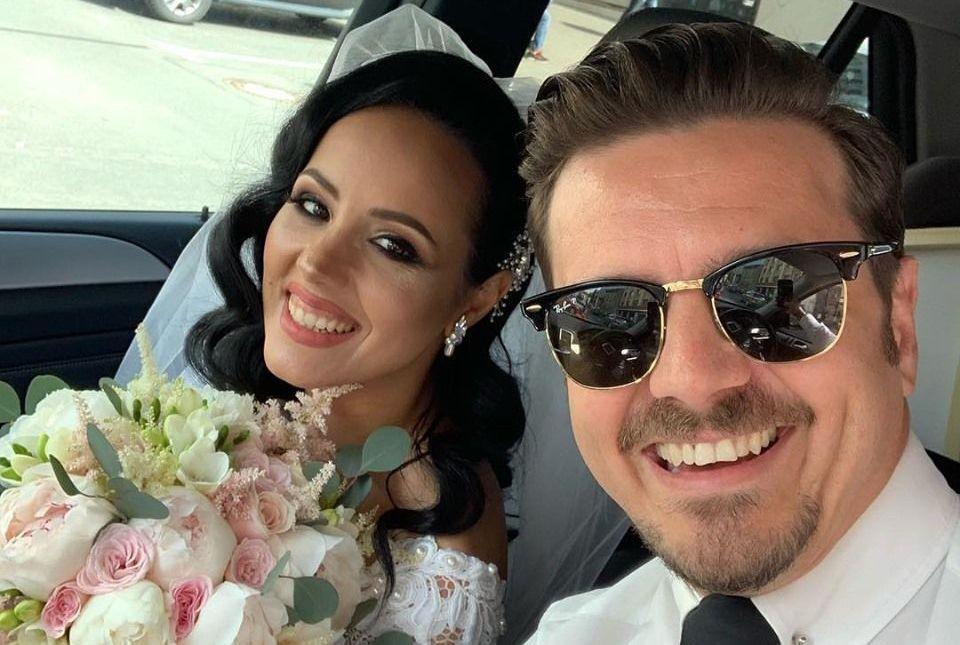 Sora lui Mihai Petre s-a căsătorit în acest weekend.  La nunta surorii mele iubite