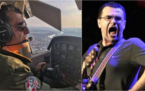 Mihai Mărgineanu merge la concerte cu avionul, pe care îl pilotează singur