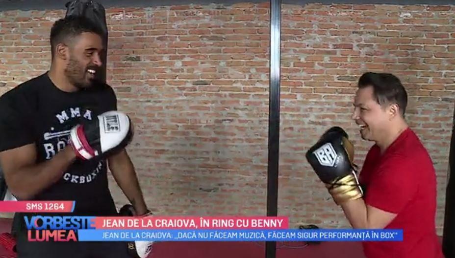 Jean de la Craiova, în ring cu Benny Adegbuyi