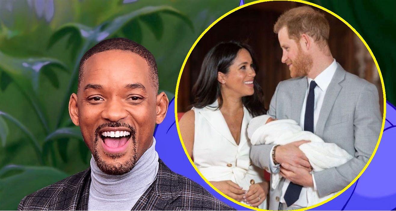 Cum i-a felicitat Will Smith pe Meghan și Harry pentru primul lor copil. Actorul, un glumeț