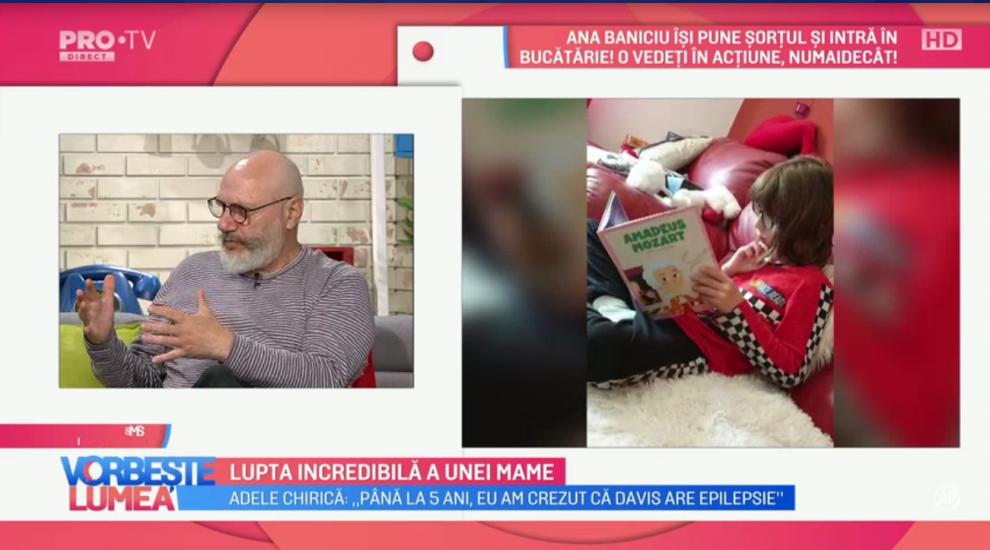 Adela Chirică vorbește despre șocul trăit după ce aflat că fiul ei este grav bolnav