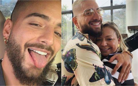 Maluma a șocat internetul cu o fotografie. Artistul și-a sărutat mama pe gură