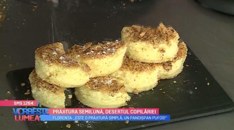 VIDEO Prăjitura semilună, desertul copilăriei