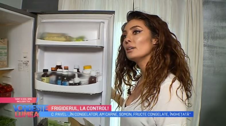 VIDEO Frigiderul la control cu Claudia Pavel