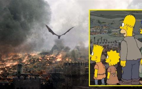 The Simpsons au făcut-o din nou. Finalul serialului Urzeala tronurilor, prezis cu doi ani înainte