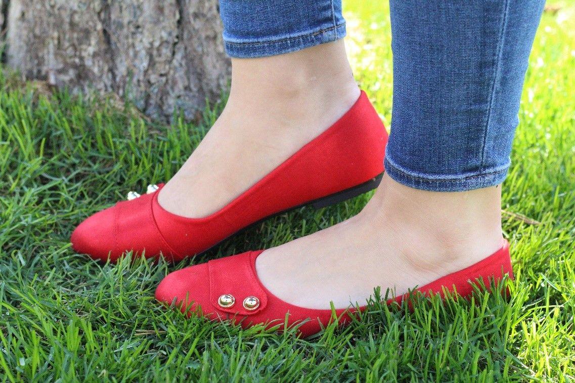 (P) Încălțăminte damă de culoare roșie ndash; cum se asortează corect ținutelor