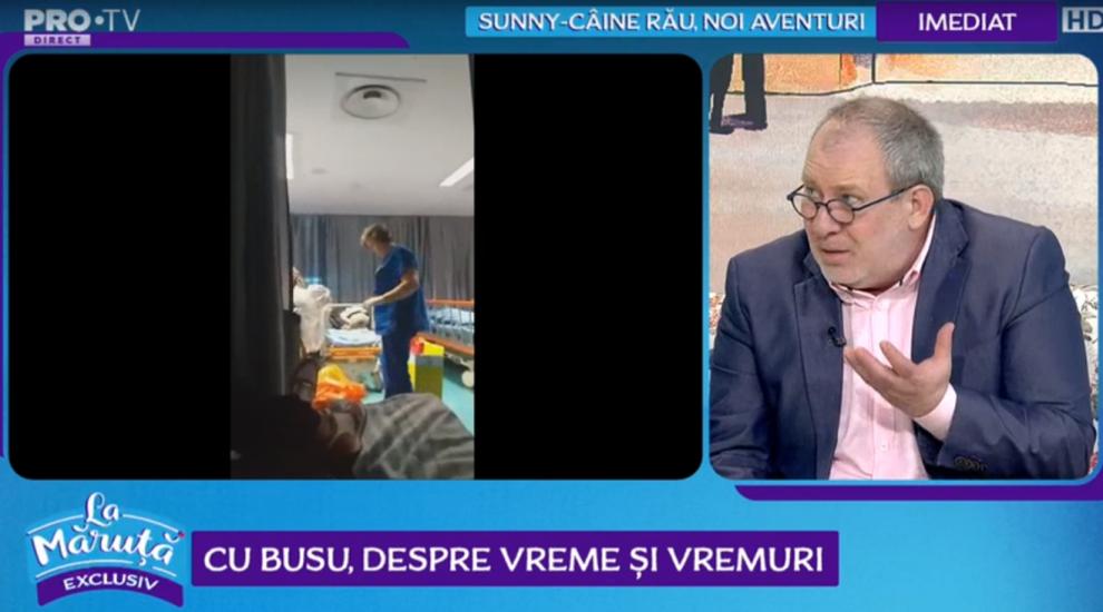 VIDEO Florin Busuioc, despre cazul revoltător de la Spitalul Universitar București