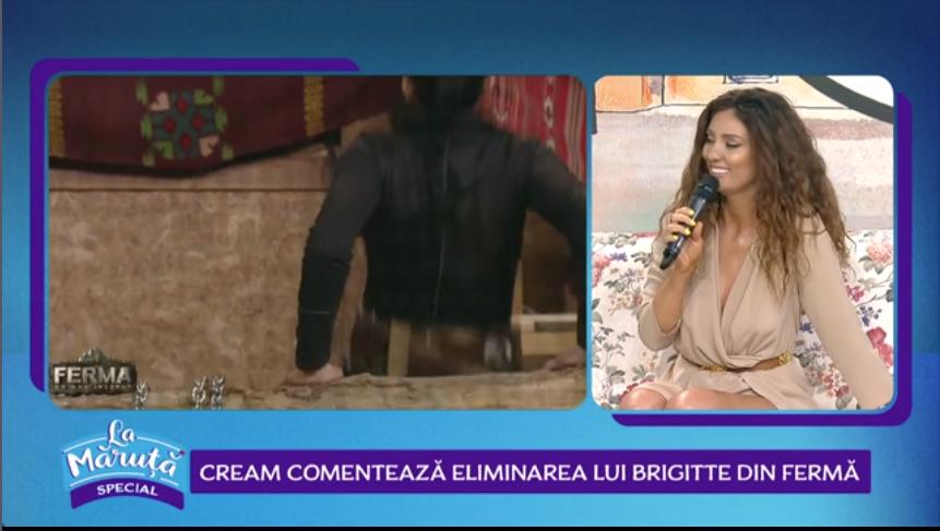"""Claudia Pavel. despre evenimentele din Ferma: """"Nu-mi cer scuze pentru ce i-am spus lui Brigitte"""""""