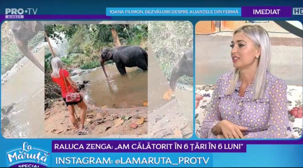 """VIDEO Raluca Zenga: """"Am călătorit în 6 țări, în 6 luni"""""""