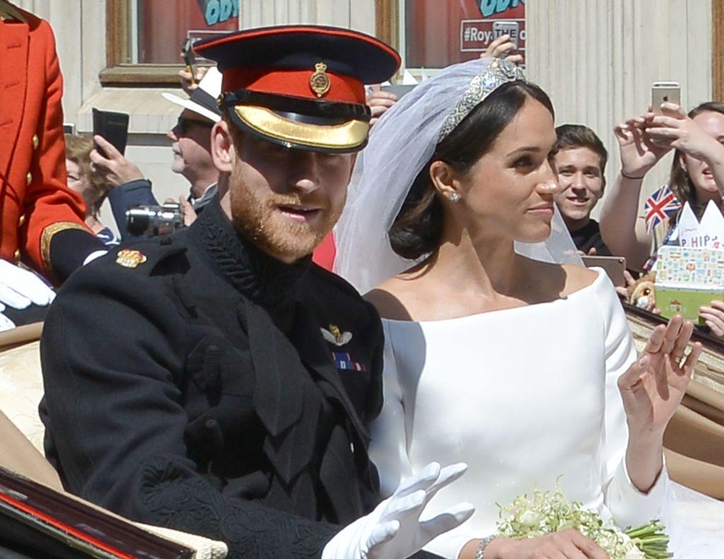 Se împlineşte un an de la nunta Prinţului Harry cu Meghan Markle. Vezi mesajul plin de recunoştinţă al celor doi
