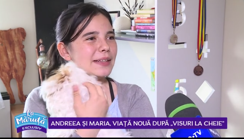 """VIDEO Andreea și Maria, viață nouă după """"Visuri la cheie"""""""