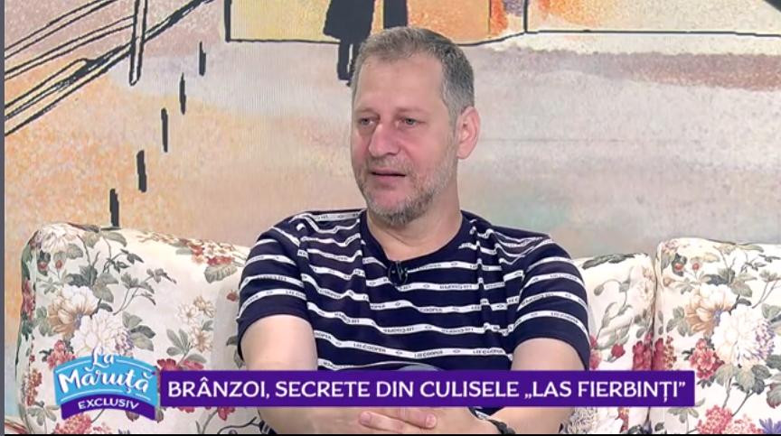 VIDEO Ionuț Ciocia, alias Brânzoi, secrete din culisele serialului Las Fierbinți