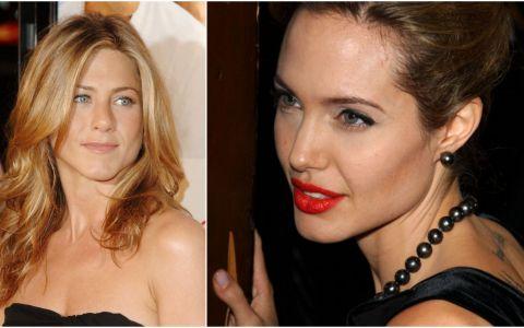 Ce i-a spus Jennifer Aniston actriței Angelina Jolie, când s-au întâlnit pentru prima oară