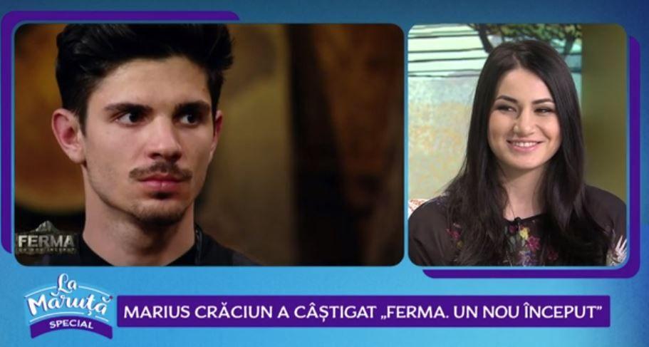 VIDEO Marius Craciun împreună cu Diana Belbiță, dezvăluiri din finala show-ului Ferma. Un nou inceput!