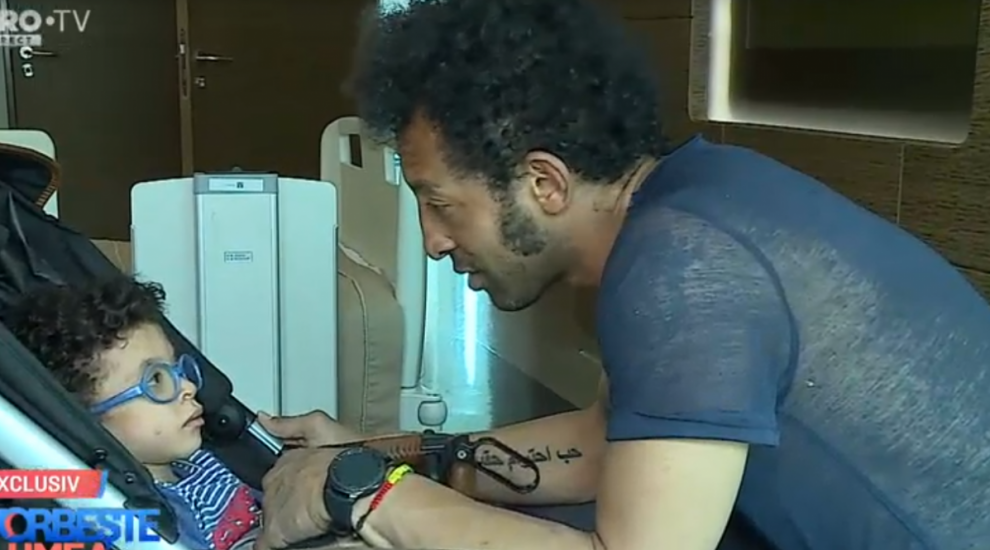"""VIDEO Fiul lui Kamara a intrat în operație, în Turcia: """"Mă încearcă un sentiment puternic, sunt conectat la Leon 100%"""""""