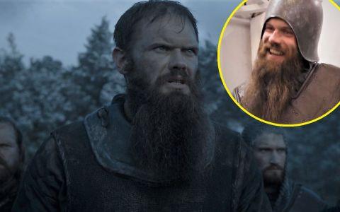 Cel mai popular figurant din Urzeala tronurilor este un irlandez, soldat fidel al Casei Stark