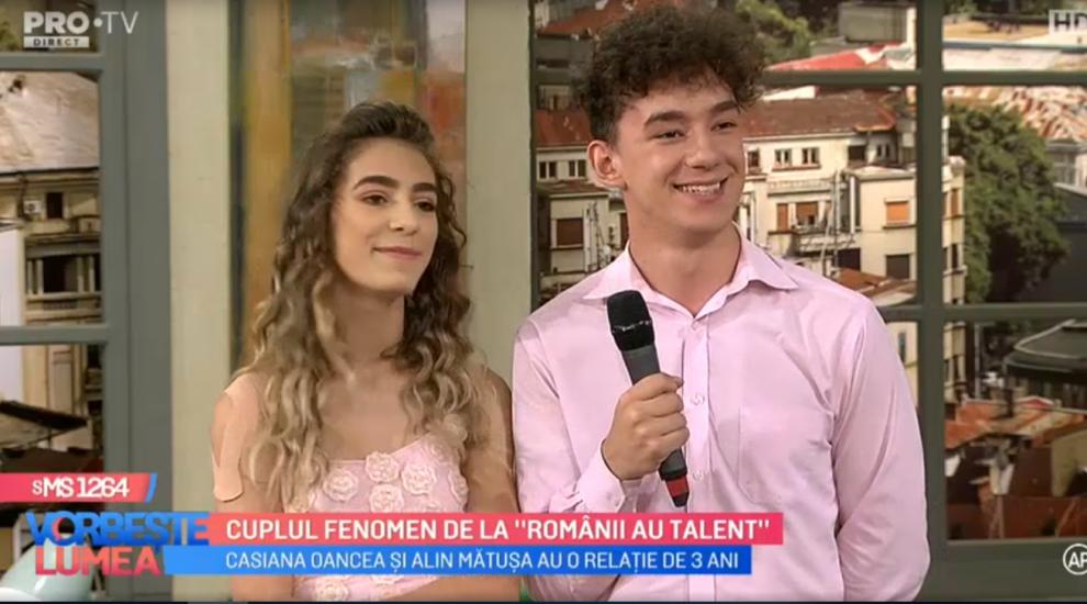 VIDEO Cuplul fenomen, Casiana și Alin vorbesc despre experiența trăită la Românii au talent
