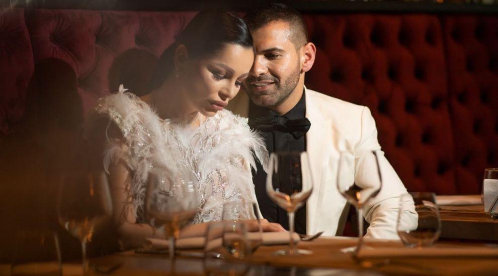 Albumul foto de nuntă al cuplului Brigitte - Florin Pastramă. Cum s-au pozat cei doi
