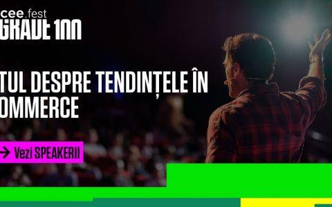 Google, Facebook, LinkedIn, la București! iCEE.fest: UPGRADE 100 - cel mai amplu festival de digital și tehnologie