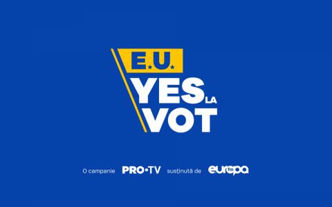 Campania E.U. YES LA VOT, lider de audiență! În online, mesajele video au fost afișate de peste 5.6 milioane de ori
