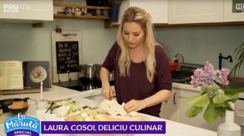VIDEO Laura Cosoi a pregătit o supă cremă de conopidă. Modul de prepare aici