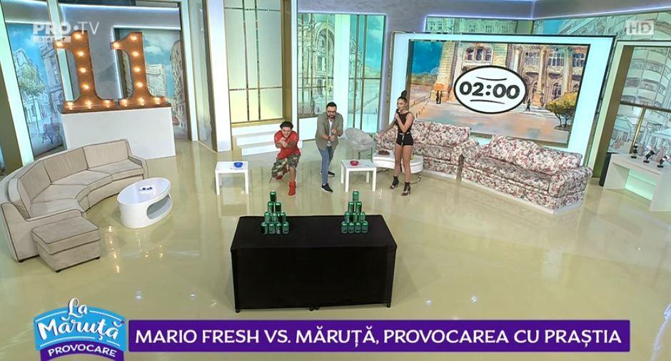 Mario Fresh față în față cu Cătălin Măruță. Cine a câștigat provocarea zilei
