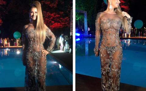După ce a impresionat în România într-o rochie foarte sexy, Anamaria Prodan face senzaţie la Las Vegas