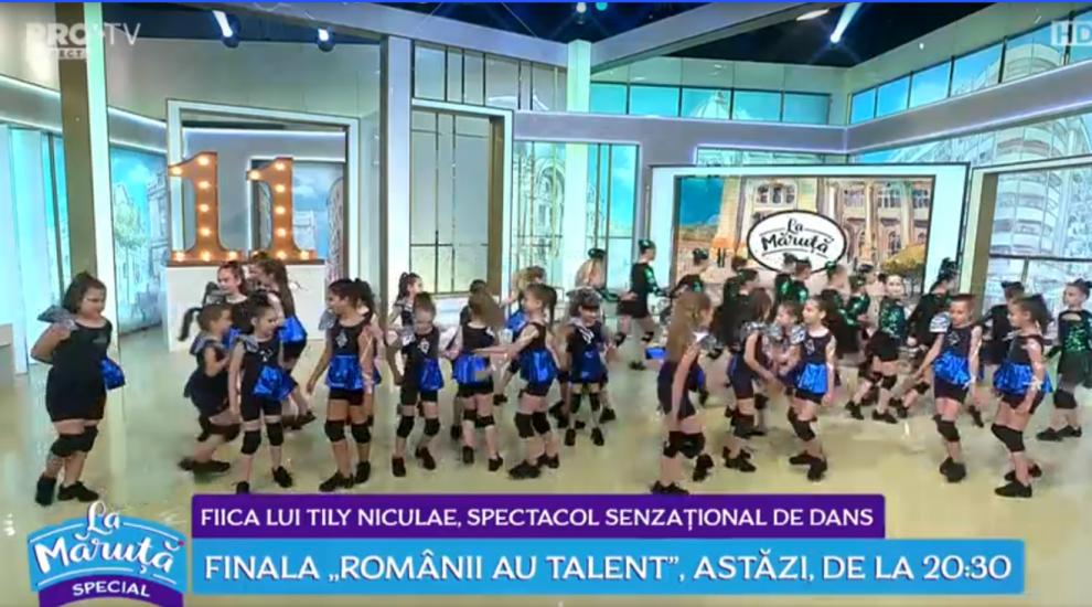 VIDEO Fiica lui Tily Niculae, spectacol senzațional de dans