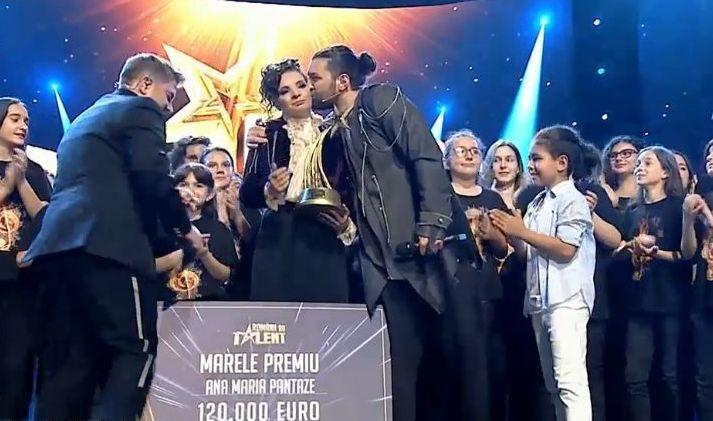"""Ana Maria Pantaze, câștigătoarea Românii au talent, sezonul 9: """"Nu mă vedeam aici"""""""