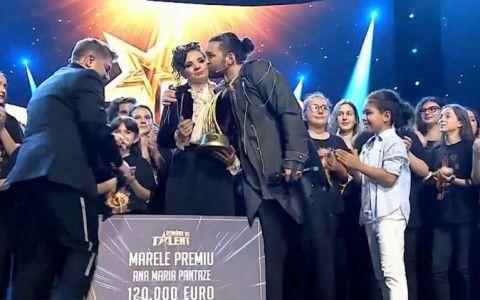 Ana Maria Pantaze, câștigătoarea Românii au talent, sezonul 9:  Nu mă vedeam aici
