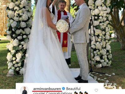 Markus Schulz și Adina Butar, nuntă în Ibiza. FOTO: Markus Schulz Instagram