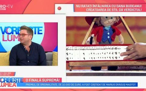 Pavel Bartoș, despre sezonul 9 Românii au talent