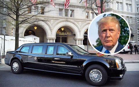Ce dotări are  Bestia , limuzina de 1,2 milioane de lire sterline a lui Donald Trump