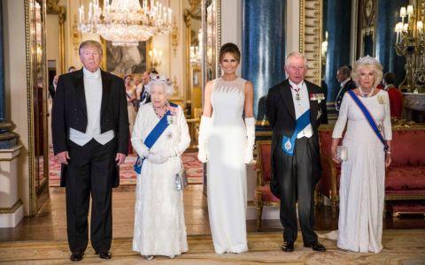 Reacția Camillei, Ducesă de Cornwall, la întâlnirea cu Trump a devenit virală.  Cel mai bun moment al vizitei