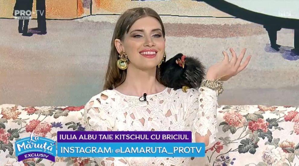 VIDEO Iulia Albu, despre ținutele vedetelor de pe Instagram
