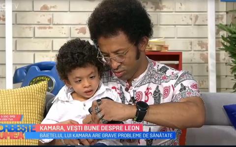 Lupta continuă pentru Leon, fiul lui Kamara.  Se văd niște rezultate după aceste intervenții
