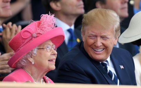 Ce i-a spus Regina lui Donald Trump la finalul vizitei acestuia în Marea Britanie