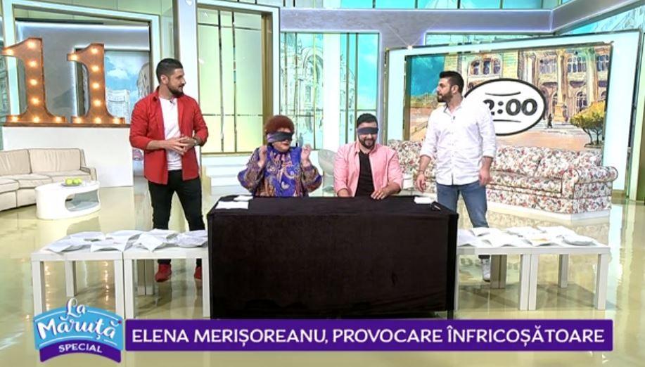 Elena Merișoreanu față în față cu Cătălin Măruță. Cine a câștigat provocarea de joi