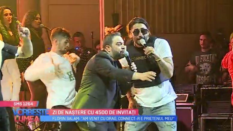VIDEO Florin Salam și Connect-R pe aceeași scenă