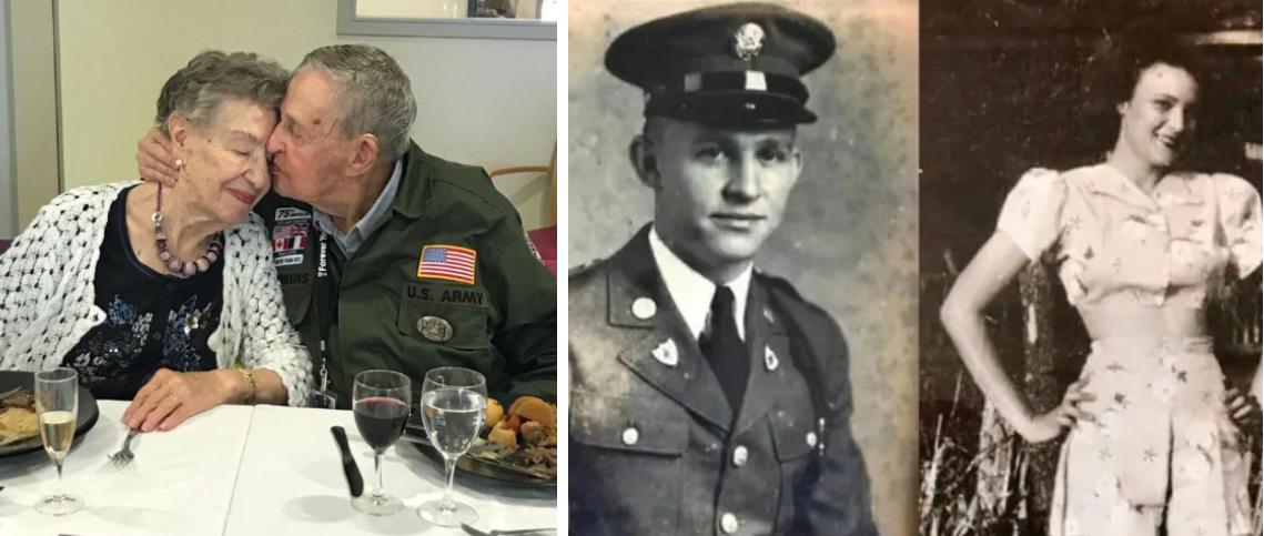 Un veteran de război şi-a revăzut prima iubită după 75 de ani. Bărbatul:  Te-am iubit mereu