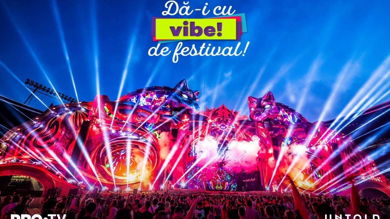 Dă-i cu vibe de festival! PRO TV ți-a pregătit 5 invitații duble la UNTOLD 2019